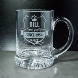 Birthday Tankard PERSONALISED ENGRAVED ref ATFQ